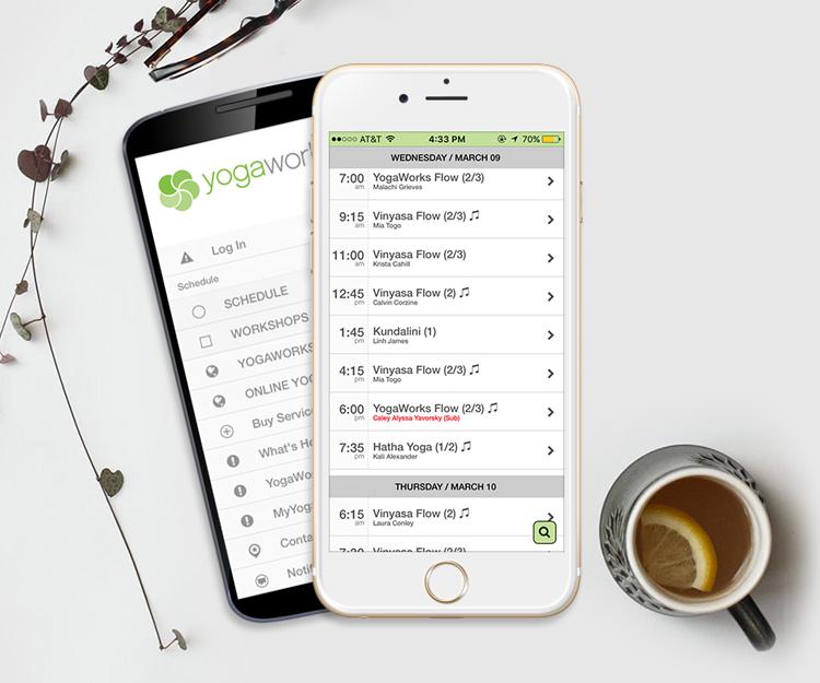 YogaWorks Mobile App