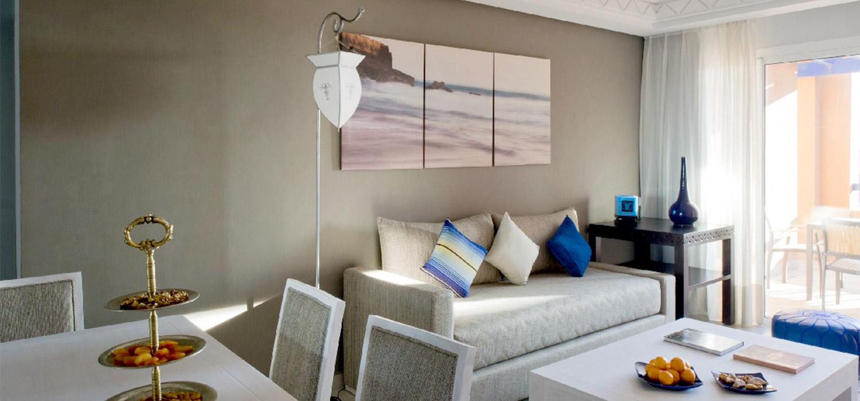 YogaWorks Destination Teacher Training Morocoo Hotel Paradis Plage Common Room