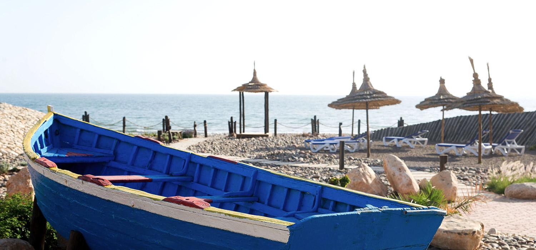 YogaWorks Destination Teacher Training Morocoo Hotel Paradis Plage Boat