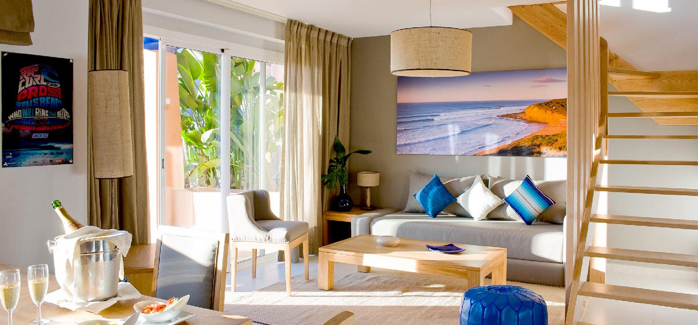 YogaWorks Destination Teacher Training Morocoo Hotel Paradis Plage Sitting Room