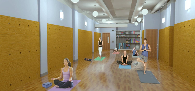 YogaWorks Chestnut Hill Studio 2