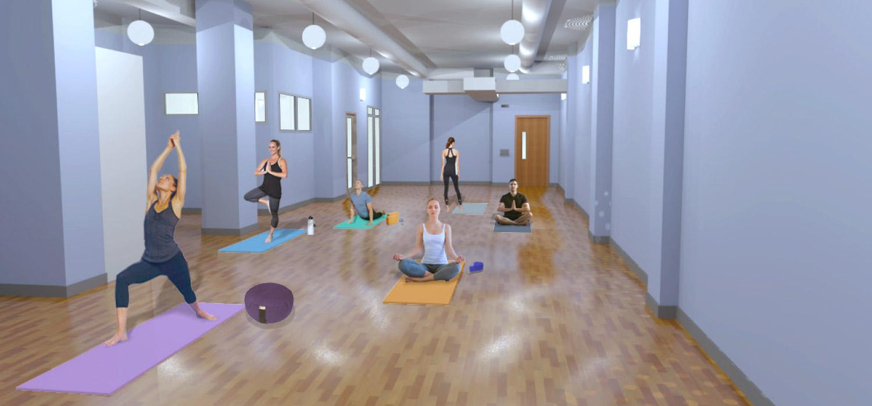 YogaWorks Chestnut Hill Studio 1