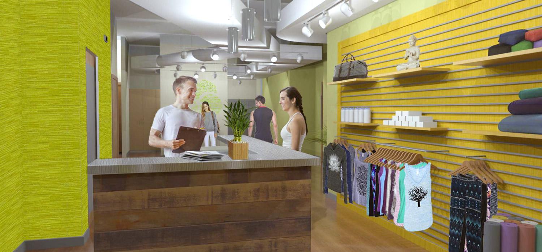 YogaWorks Chestnut Hill Retail Boutique
