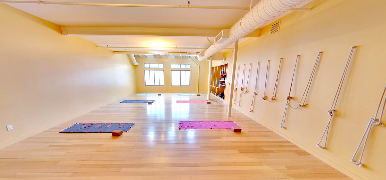 Larkspur Yoga studio