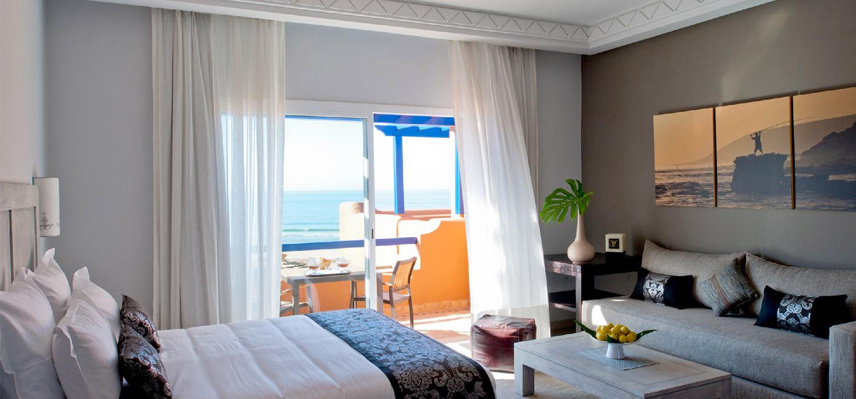 YogaWorks Destination Teacher Training Morocoo Hotel Paradis Plage Double Suite