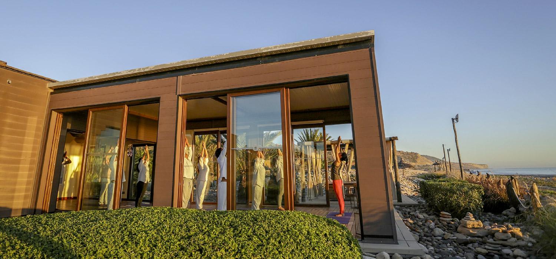 YogaWorks Destination Teacher Training Morocoo Hotel Paradis Plage Yoga Shala