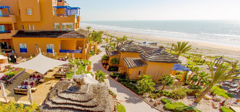 YogaWorks Destination Teacher Training Morocoo Hotel Paradis Plage Aerial View