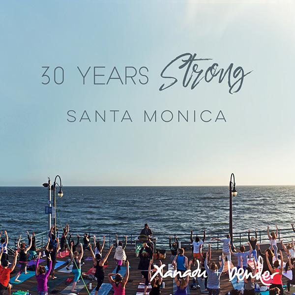 Yoga on Santa Monica Pier with Xanadu & Bender