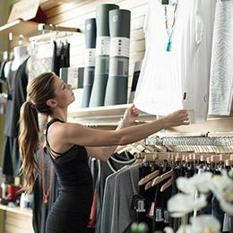 YogaWorks Retail Shop