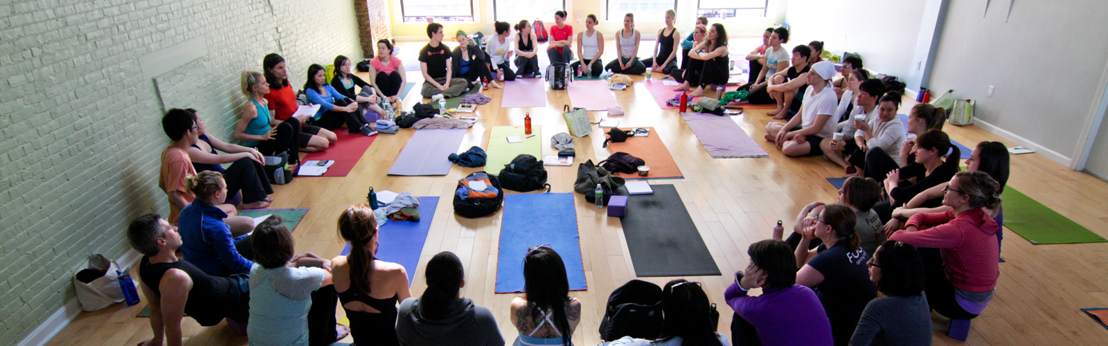 Teacher Training group at Prana Power Yoga