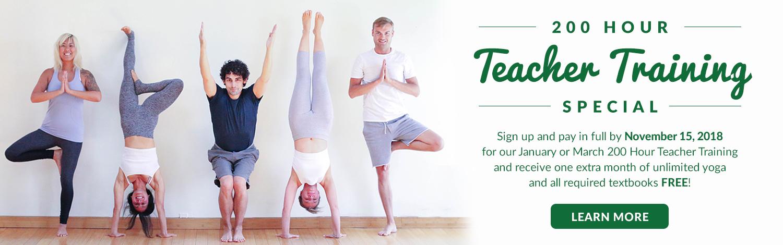 Yoga Tree Fall Teacher Training