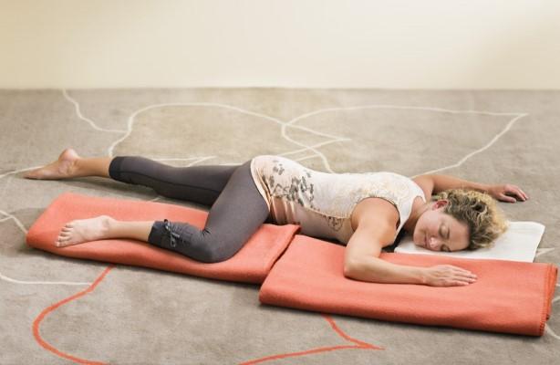Britt Fohrman leads several 2019 Deep Release restorative yoga workshops at Yoga Tree Valencia