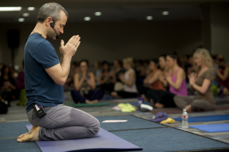 Pete Guinosso leads Detox Flow, a vinyasa flow yoga workshop  on Saturday, January 4, 2020 @ Yoga Tree Valencia in the San Francisco Bay Area.