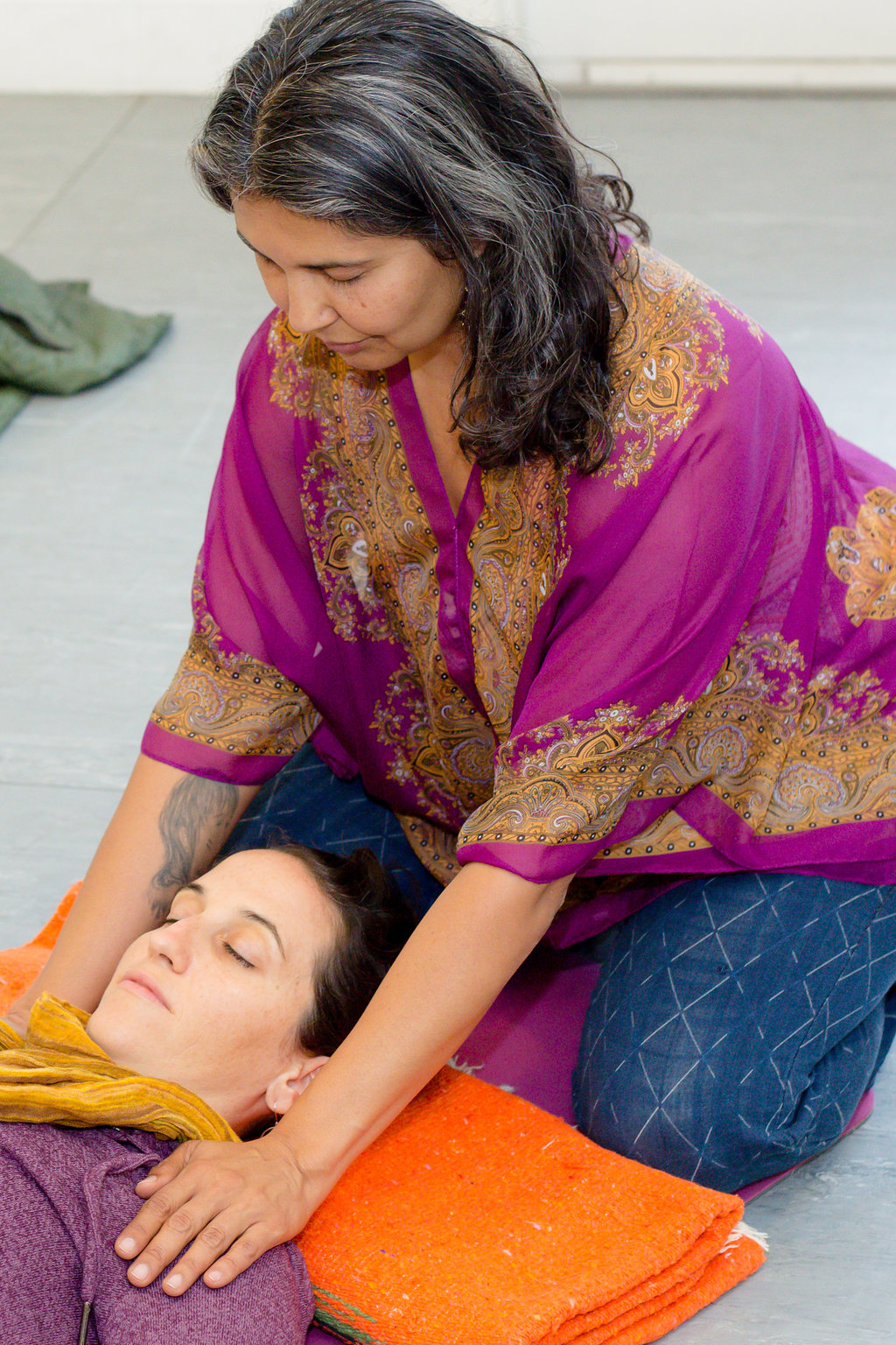 Nubia Teixeira leads Reiki Initiation for Women February 16-17 at YogaWorks Larkspur
