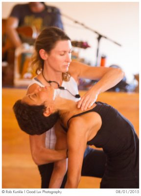 Janet Stone leads Assisting Intensive May 17-19 at Yoga Tree SF Training Center, 175 De Haro St.
