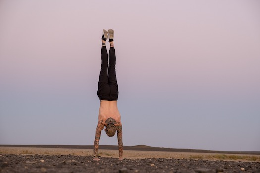 Find the Fun, Fight the Fear: A Handstand + Crow Workshop, an arm balancing and inversions workshop to be led by Danni Pomplun August 22 at Yoga Tree SF Castro in the San Francisco Bay area.