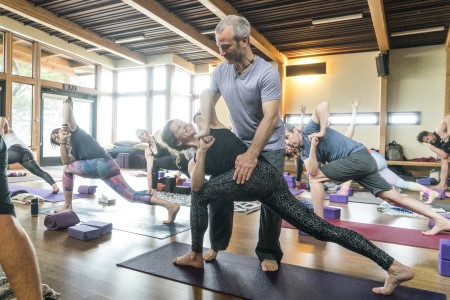 Building a Strong Base, module 1 of the 4-module Lighting the Path Advanced Teacher Training, to be led by vinyasa flow yoga instructor Pete Guinosso June 10-14, 2019 at Yoga Tree SF Potrero studio in San Francisco