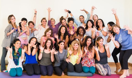 Jocelyn Kay Levy of Wee Yogis leads Kids Yoga Teacher Training July 20-21 at YogaWorks Tarzana