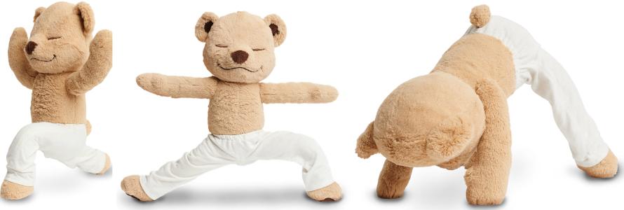 Yoga instructor Meg Randazzo, who will lead a Meddy Teddy kids yoga workshop at YogaWorks Westlake Village on May 4