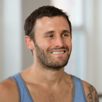 Calvin Corzine leads (with Vytas Baskauskas) Yoga Reboot: New Ideas, New Challenges, a yoga workshop series to be held June 17-22 at the YogaWorks Training Center at YogaWorks Main Street in Santa Monica