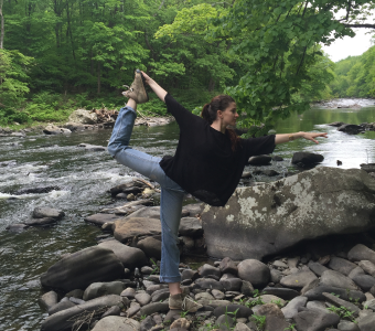 Gabrielle Johnson leads The Path of Wellness, a yoga, meditation and pranayama workshop on Saturday, September 14 @ YogaWorks NYC Eastside in New York City.