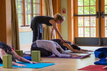 Yin Yoga and Massage, a workshop to be led by yoga teacher Tina Rath  and massage therapist Jay Gunther on June 29 at Yoga Tree Telegraph in Berkeley.