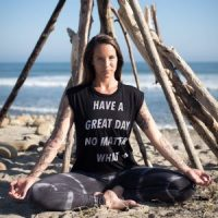 Courtney Parkyn (seen here) and Kerry Walker-Collins lead a two-part Reiki training weekend April 25-26 @ YogaWorks Mission Viejo in Orange County.