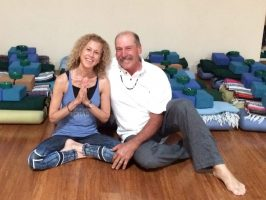 Sharon and Jeff Dawson lead Restorative Yoga Sound Healing on Sunday, September 22 at YogaWorks Palo Alto.