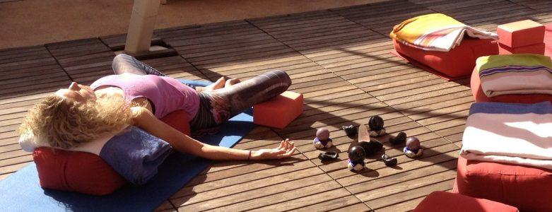 Sharon and Jeff Dawson lead Restorative Yoga Sound Healing on Sunday, September 22 at YogaWorks Palo Alto.