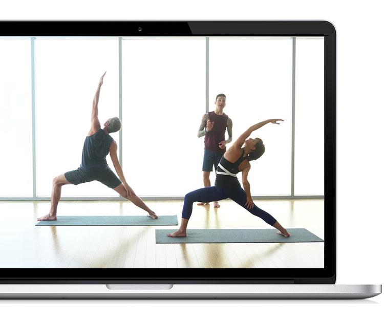 myyogaworks laptop promo image