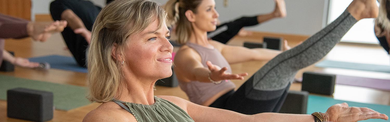 Yoga Class at YogaWorks