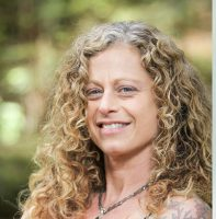 Janna Barkin leads Roll + Renew, a yoga workshop to be held August 4 at  YogaWorks Larkspur in Marin County.
