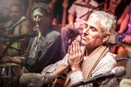 The Art and Practice of Kirtan, a chanting workshop to be led by Jai Uttal on Sunday, September 15 at Yoga Tree Telegraph in the Berkeley East Bay area.