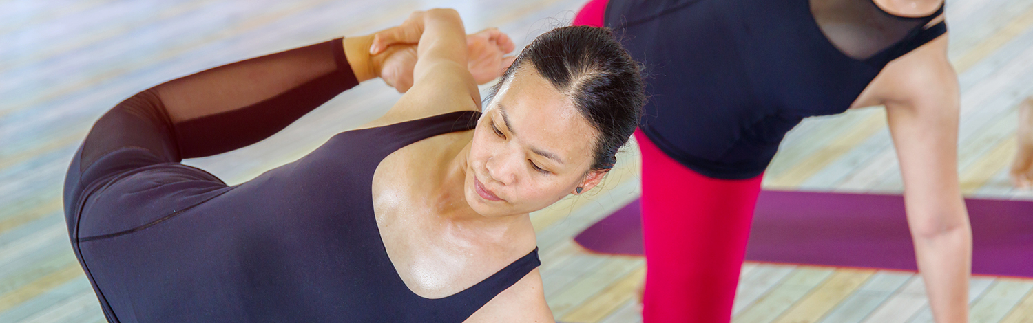 Hot Yoga Class at YogaWorks