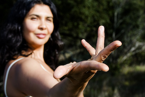 Nubia Teixeira will lead Devotional Yoga Flow Training May 28-31, 2020 at Yoga Tree SF Training Center in the San Francisco Bay Area.