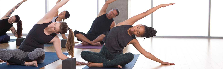 Yin Yoga Class at YogaWorks