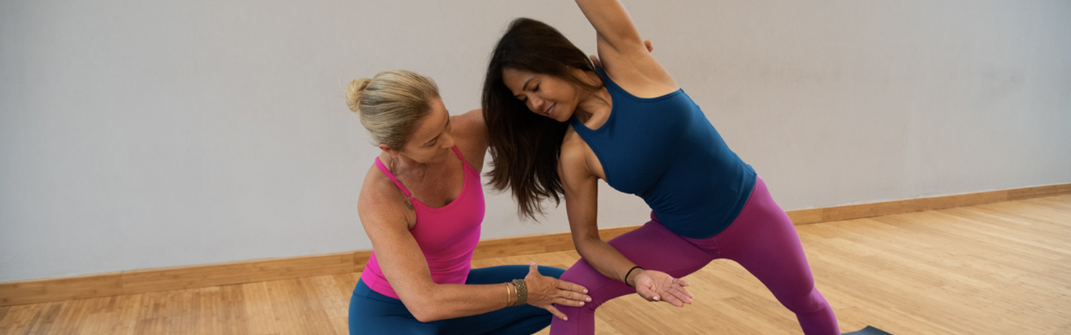 Learning the major styles of yoga at YogaWorks