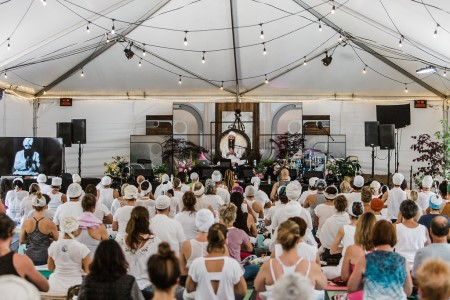 Jai Dev Singh leads Opening the 10th Gate: A Equinox Kundalini Yoga Activation, a kundalini workshop to be held Sunday, September 22 at  Yoga Tree Telegraphin the Berkeley East Bay area.