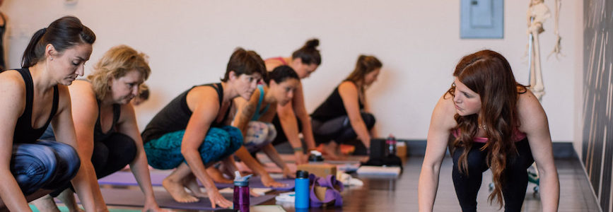 Alexandria Crow leads Yoga Physics weekend, a 3-day workshop October 18-20 @ YogaWorks Playa Vista in the Los Angeles Southern California area.