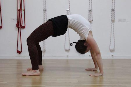 Miri Rivlin leads Fearless, Joyful Backbends, an Iyengar yoga inspired workshop on Saturday, October 12 @ YogaWorks Palo Alto the San Francisco South Bay area.