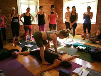 Jill Miller leads Yoga Tune Up® Master Classes February 19-25, 2020 @ YogaWorks Tarzana in the Greater Los Angeles area.
