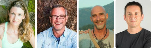 Janet Stone, Pete Guinosso and David Moreno will lead (with host Darren Main) Yoga Tree 20th Anniversary Celebration Event, a yoga class and fundraiser event for Global Movement Network, Saturday, November 16 at Yoga Tree SF Castro in San Francisco.