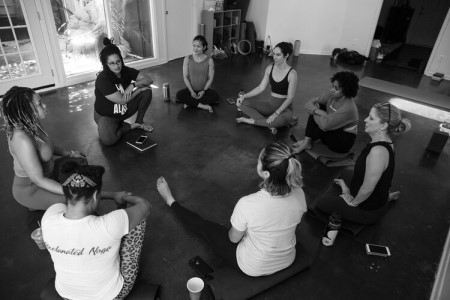 Davina Davidson leads Modifications for All Bodies, a Connect 300-hour Teacher Training Module April 25-26, 2020 @ YogaWorks Midtown in Houston.