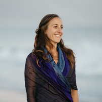 Estee Fletter (seen here) and Cindy Meiri lead Yoga Lounge: Restorative Yoga with Sound Healing & Acutonics, a yoga and sound meditation workshop at Yoga Tree SF Valencia February 15 and December 13 in the San Francisco Bay Area.