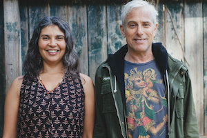 Jai Uttal + Nubia Teixeira lead an afternoon of  restorative yoga, healing chants and  the art of mudra in this February 2 YW Larkspur workshop.