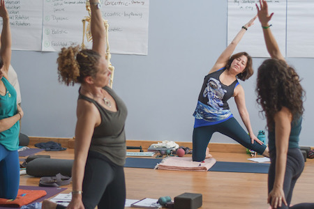 Yoga Tune Up® Certification, a Yoga Tune Up/yoga massage training to be led by Dawn Adams January 25 - February 1, 2020 @ YogaWorks Larkspur in the Marin County North Bay area.