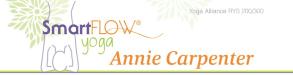 Annie Carpenter leads Sama Sadhana, a 35-hour SmartFLOW Advanced Teacher Training  on December 5-13 on Zoom.
