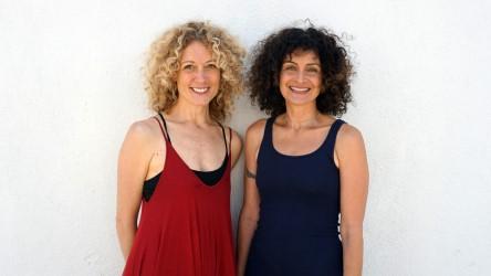 Hala Khouri & Kyra Haglund lead Trauma-Informed Yoga Fundamentals June 15-19, 2020 @ YogaWorks Teacher Training Center in Santa Monica.