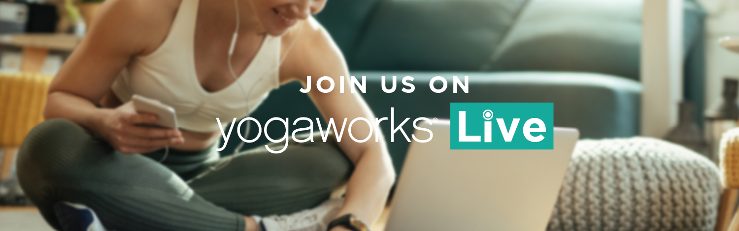 Join Us On YogaWorks Live