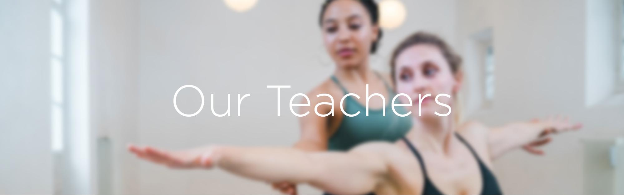 Teachers at YogaWorks